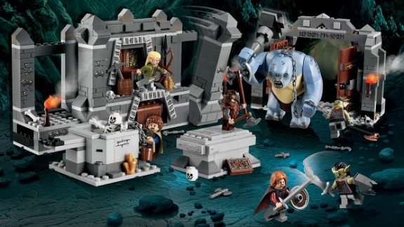 """The Mines of Moria™ Lego Lord of the Rings by Lego in 2012. The company has exploded from its wooden days. The Lego company now not only sells the popular building toy, it also has a theme park, Legoland, movies and even video games. """"The Lego Movie,"""" from 2014, was one of the biggest box-office hits of the year."""