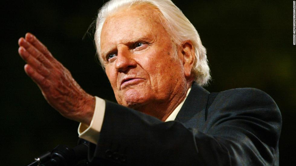 Image result for PICTURES OF BILLY GRAHAM
