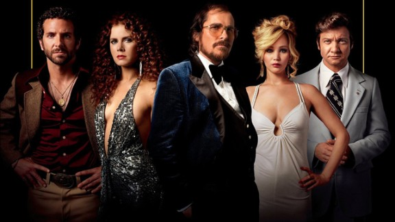 "Best picture nominees: ""American Hustle"" (pictured), ""12 Years a Slave,"" ""The Wolf of Wall Street,"" ""Captain Phillips,"" ""Her,"" ""Gravity,"" ""Dallas Buyers Club,"" ""Nebraska"" and ""Philomena"""