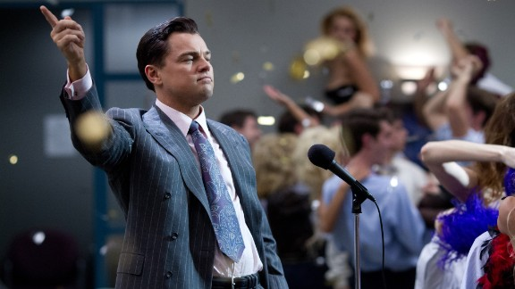 """Best actor in a motion picture, musical or comedy: Leonardo DiCaprio, """"The Wolf of Wall Street"""""""