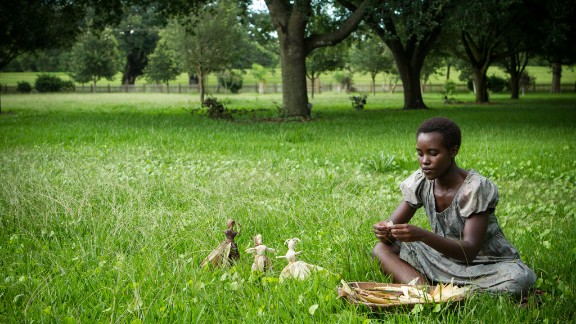 """<strong>Outstanding performance by a female actor in a supporting role:</strong> Lupita Nyong'o, """"12 Years a Slave"""""""