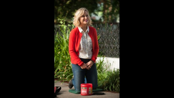 """Best actress in a TV series, musical or comedy: Amy Poehler, """"Parks and Recreation"""""""