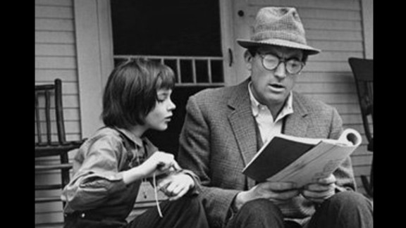 """To Kill a Mockingbird"": Harper Lee's only novel, a huge best-seller, won the 1960 Pulitzer Prize for fiction. The story, told through the eyes of a child, is about race and justice in Depression-era Alabama, and lawyer Atticus Finch -- the narrator's father -- has become a model for a righteous, soft-spoken hero. The 1962 film is equally beloved and earned Gregory Peck an Oscar for his performance as Atticus."