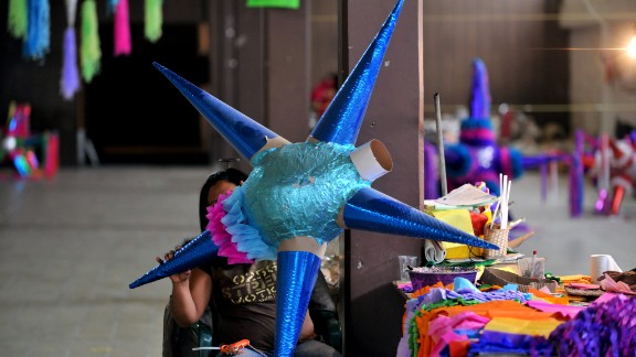 <strong>San Miguel de Allende, Mexico:</strong> Piñatas, posadas and ponche sum up the festivities in the colorful Mexican city of San Miguel de Allende, where Christmas is both a solemn and celebratory affair.