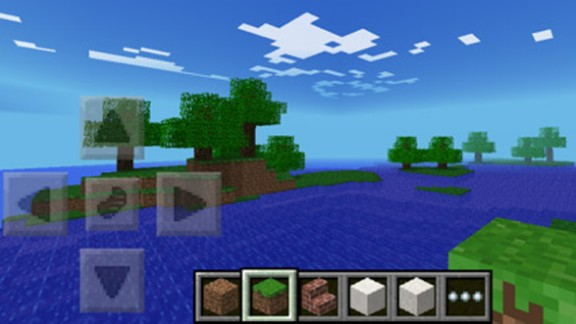 """Minecraft"" is a sandbox game, in which a player is free to roam a virtual world instead progressing from level to level."