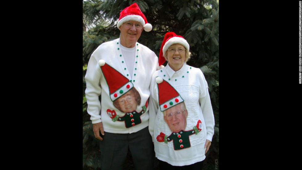 "Of course, there's a time to be goofy, funny and high-spirited around the holidays, too. There's just something about wacky holiday sweaters that makes people smile, said <a href=""http://www.myuglychristmassweater.com/"" target=""_blank"">MyUglyChristmasSweater.com</a> owner Anne Marie Blackman."