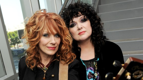 "On December 7, sisters Ann and Nancy Wilson tweeted, ""Heart has chosen to decline their forthcoming performance at SeaWorld on 2/9/14 due to the controversial documentary film 'Black Fish.' "" Nancy, left, wrote, ""The Sea World show was planned long ago as an Orlando show. Had we known, we'd have said no then. We said no today. Love you all."""