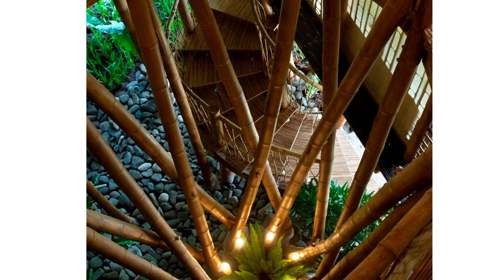 """Many people still think bamboo is cheap and only for small buildings, but we're showing it can be used to make high houses, and really redefine how the material is used,"" says How."