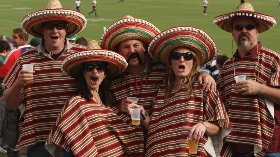 Here fans are pictured at the Adelaide Rugby Sevens in 2009. Australia hosted the first leg of the 2013-14 season on the Gold Coast, with New Zealand beating the home team in the final in October.