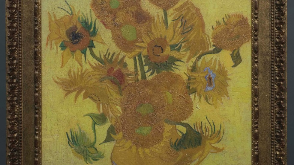 "Working with Fujifilm, the Van Gogh Museum has created 3-D printed reproductions—called ""Relievos""—of five masterpieces. This ""Sunflowers"" Relievo captures the direction and relief of Van Gogh's brushstrokes, and its 32 shades of yellow. The museum sells the reproductions for €25,000 each, or about $34,000."