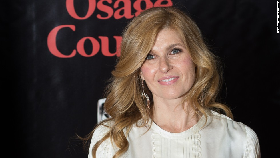 "Connie Britton at  the ""August: Osage County"" premiere on December 12 in New York City."