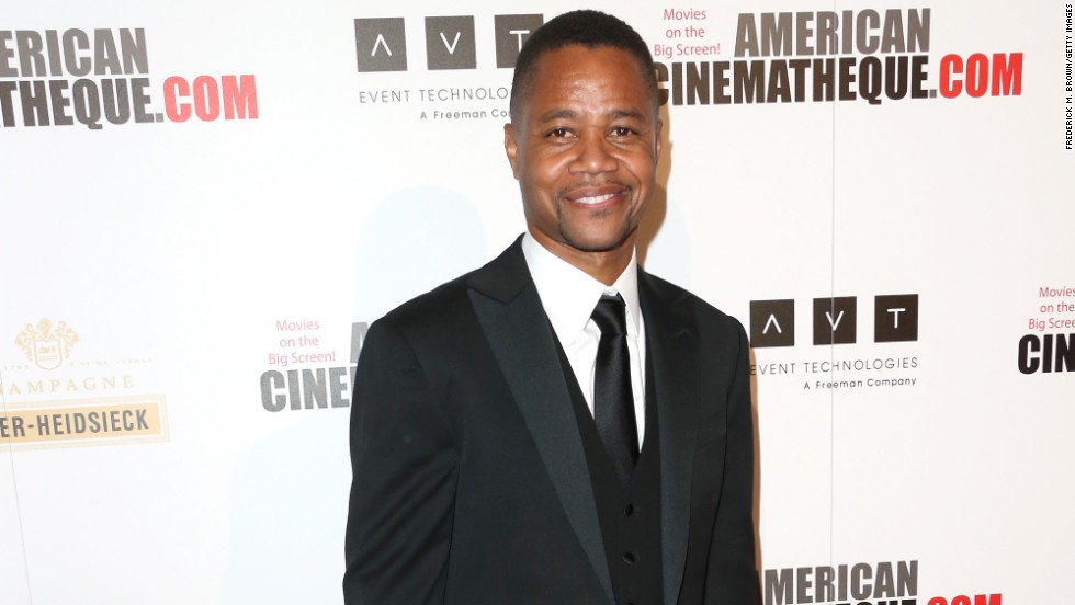 Cuba Gooding Jr. arrives for the 27th American Cinematheque Award honoring Jerry Bruckheimer on December 12.