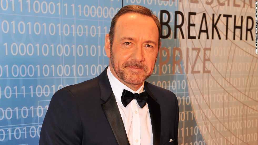 Kevin Spacey at the 2014 Breakthrough Prize Inaugural Ceremony for Awards in Fundamental Physics and Life Sciences on December 12.