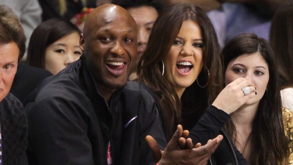 LOS ANGELES, CA - FEBRUARY 18:  (L-R) Bruce Jenner, Lamar Odom and Khloe Kardashian play at the 2011 BBVA NBA All-Star Celebrity Game at the Los Angeles Convention Center on February 18, 2011 in Los Angeles, California.  (Photo by Noel Vasquez/Getty Images) *** Local Caption *** Lamar Odom;Bruce Jenner;Khloe Kardashian