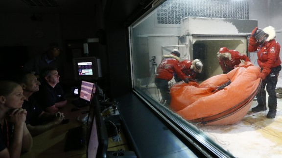 The Prince and his four teammates were subjected to ambient temperatures of -35 C over a 20-hour period in the chamber.