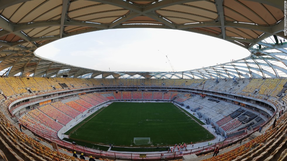 4,750 seats were made extra-wide across the 2014 World Cup stadiums to accommodate the increasing number of Brazilians who are now obese -- defined as having a Body Mass Index above 30.