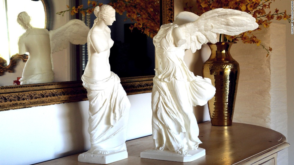 "The artist Cosmo Wenman created the first-ever publicly available 3-D prints of the sculptures Venus de Milo and the Winged Victory of Samothrace. ""This technological moment will reverberate in our art for thousands of years,"" Wenman wrote on his <a href=""http://www.cosmowenman.com"" target=""_blank"">web site</a>. They were made with an inexpensive, consumer-grade 3-D printer and cost around $5 each to produce."