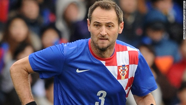 Josip Simunic has been handed a 10-match ban by FIFA which will start at next year's World Cup finals in Brazil.