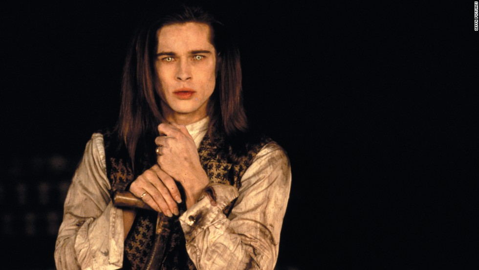"Brad Pitt  was the vampire with the good heart, Louis de Pointe du Lac, in 1994's ""Interview with a Vampire."""