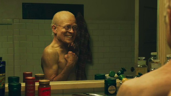 """Pitt ages backward in the 2008 film """"The Curious Case of Benjamin Button."""""""