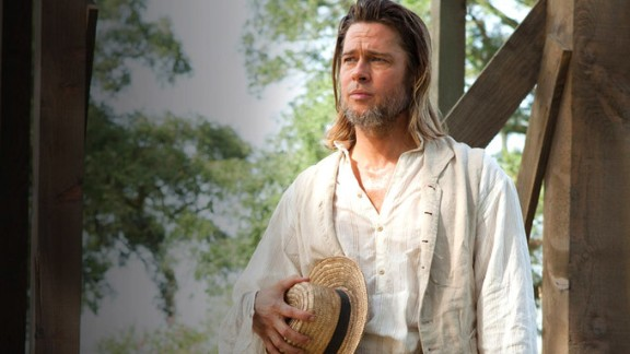 """Brad Pitt had a bit role as an abolitionist in the film """"12 Years a Slave."""" He also served as a producer on the film."""