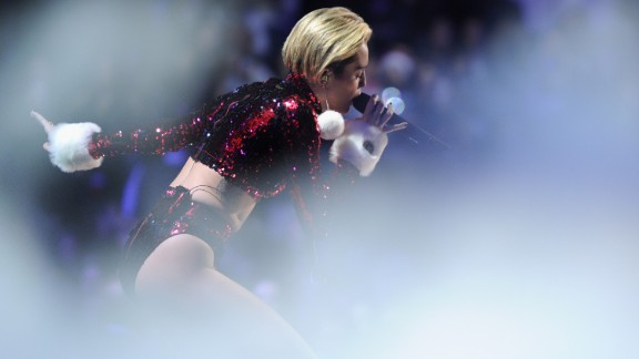 """Miley Cyrus was baptized in a Southern Baptist church and still calls herself a Christian though she doesn't attend church every Sunday. """"People are always looking for you to do something that is non-Christian,"""" she told Parade magazine in 2010. """"But it's like, 'Dude, Christians don't live in the dark.' ... If I wear something revealing, they go, 'Well, that's not Christian.' And I'm like, 'Yeah, I'm going to go to hell because I'm wearing a pair of really short white shorts.' """""""