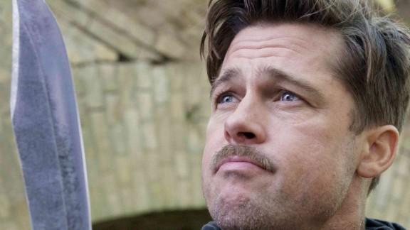 """Brad Pitt earned rave reviews in 2009 as Lt. Aldo Raine in """"Inglourious Basterds."""""""