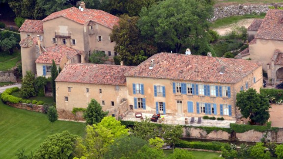 """In 2008 Pitt and Jolie bought Chateau Miraval, a vineyard estate in southeastern France. In November 2013, their Jolie-Pitt & Perrin Côtes de Provence Rosé Miraval wine made the <a href=""""http://2013.top100.winespectator.com/list/"""" target=""""_blank"""" target=""""_blank"""">Wine Spectator's Top 100 Wines of 2013 list. </a>"""