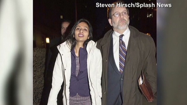 U S  strip-searched Indian diplomat