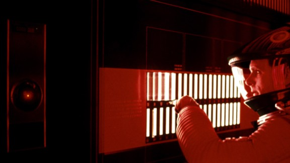 """Hal 9000, from """"2001: A Space Odyssey,"""" represented our fears of technology gone awry."""