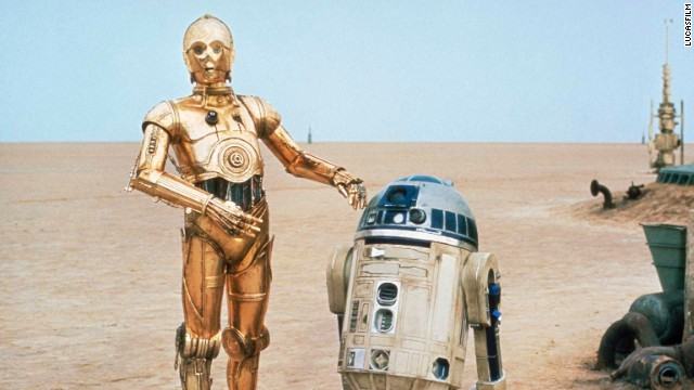 "R2D2 and C3PO from ""Star Wars"""
