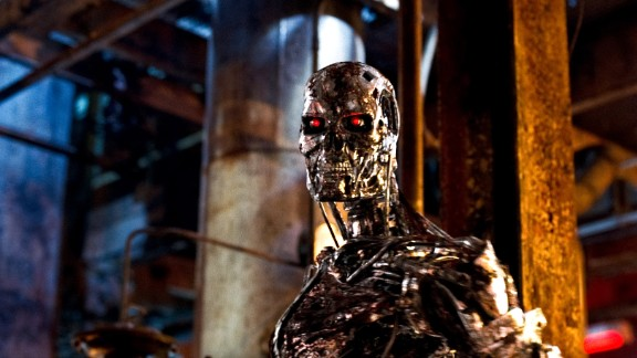 """Cyborgs like this one, from 2009's """"Terminator Salvation,"""" got more advanced, and deadly, as the series progressed."""
