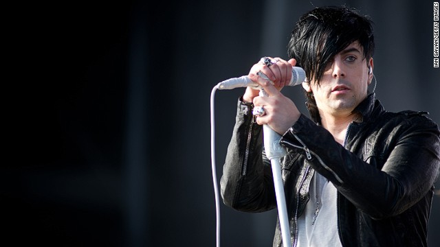 Ian Watkins performs at the V Festival in Hylands Park on August 20, 2011 in Chelmsford, United Kingdom.