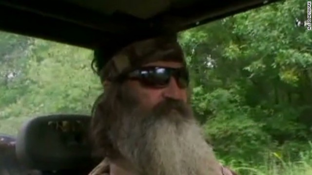"""Duck Dynasty"" star on homosexuality"