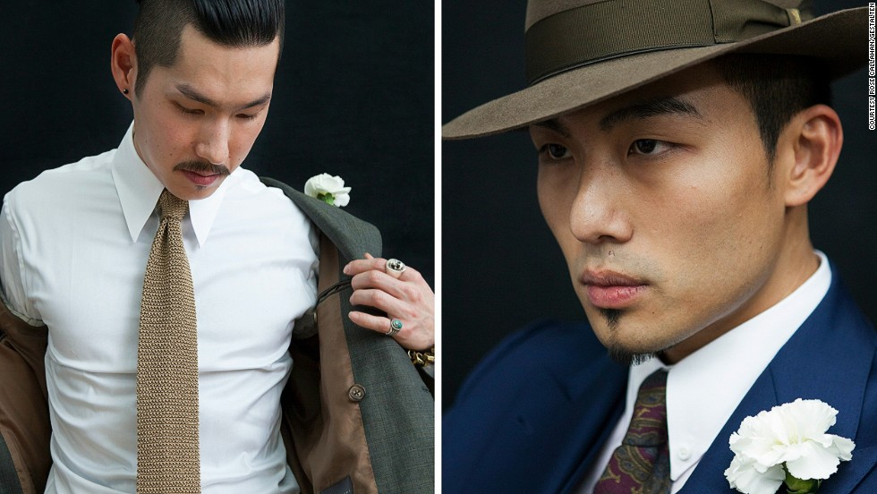 "<em>Minn Hur and Kevin Wang</em><br /><br />Minn and Kevin run a custom suiting company, and when it comes to their sartorial aesthetics they are in perfect sync. The duo coordinates their look, and aims to inspire others with their sartorial prowess: ""If everyone dressed the way we do and really embraced the lifestyle that we promote life would be great"" says Minn. <br />"