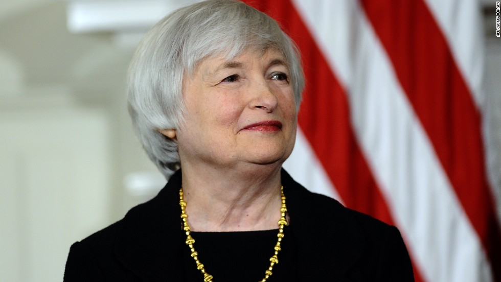 WINNER: In October, President Barack Obama nominated Janet Yellen to become the next Chair of the Federal Reserve. With a wealth of experience and highly-respected in financial circles, Yellen will take charge in February 2014. She will be the first woman to hold the post.
