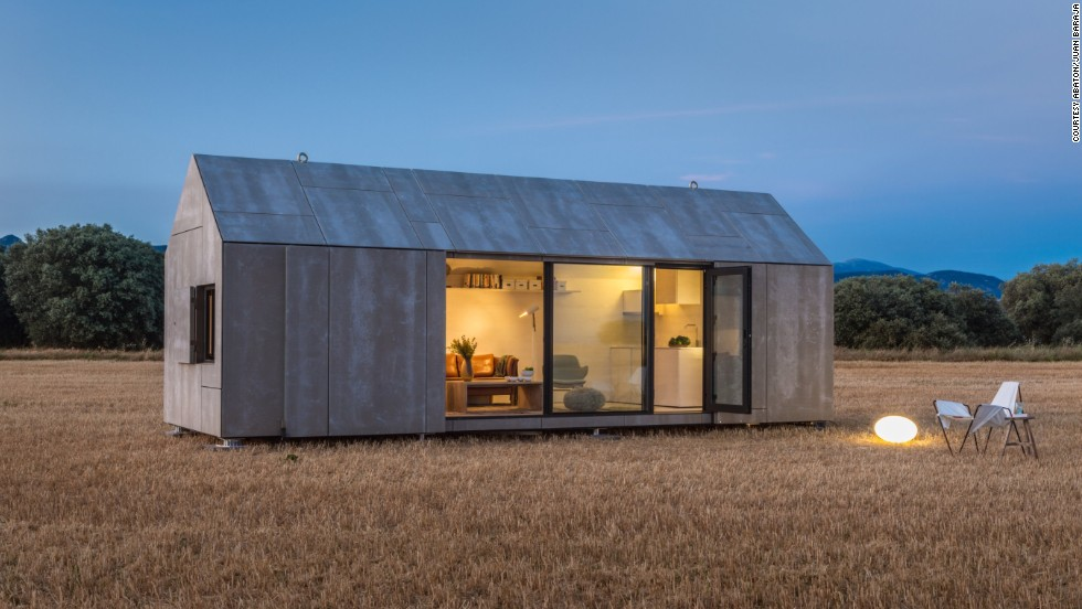 The transportable APH80 home from Spanish firm Abaton takes between six and eight weeks to build and can be transported or moved between destinations by road. Designed as a home for two people, the 27-square-meter (290-square-foot) dwelling has a bedroom, living room and bathroom.