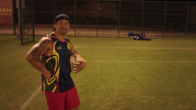 A rugby sevens master class