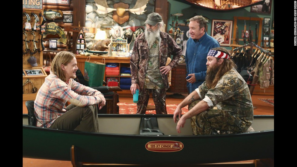 "Willie and Si guest-star in the season premiere of the ABC show ""Last Man Standing"" in 2013."