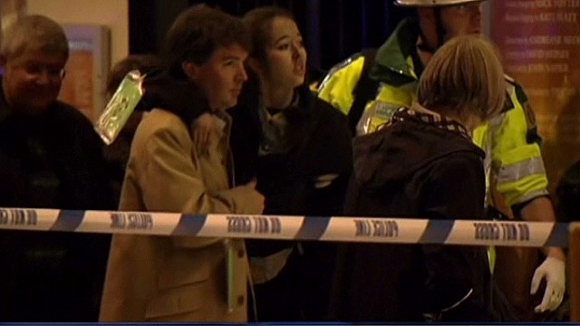 All evacuated from London Apollo Theatre