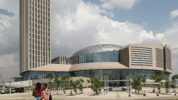 The headquarters of the African Union in Addis Ababa, Ethiopia, was built with $200 million of Chinese state funds.