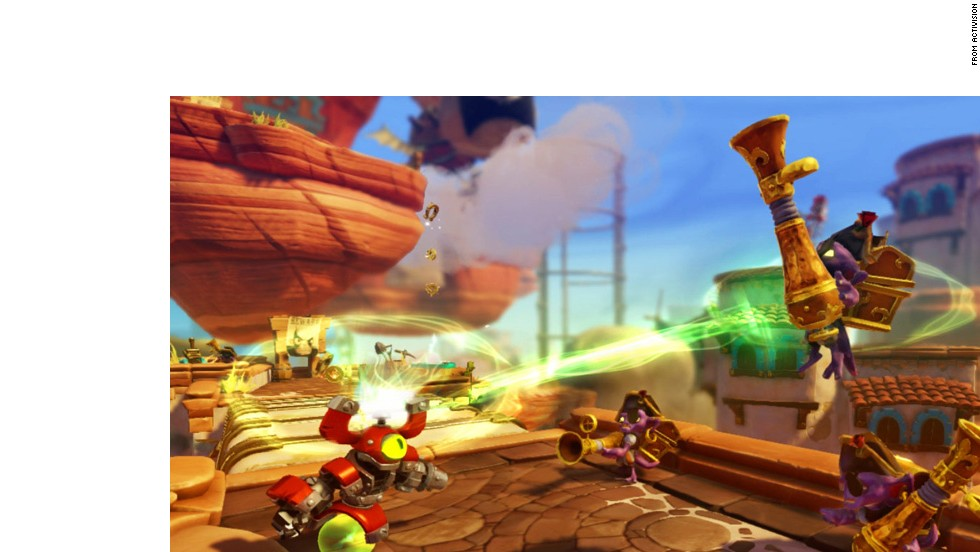 "How can the merging of action figures and video games get better? Let players mix and match powers. ""Skylanders SWAP Force"" introduced new characters that gamers could use to create whatever power combos they could imagine."