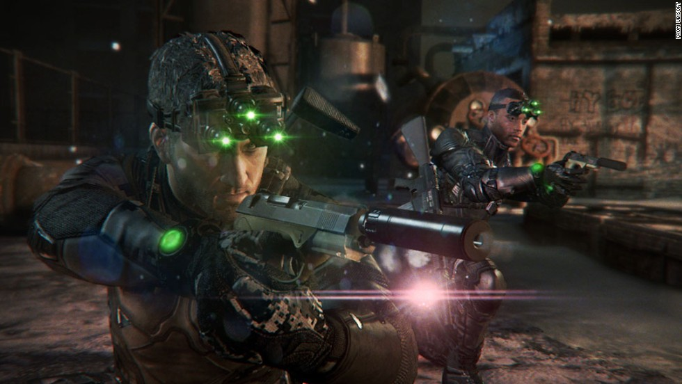 "The master of stealth, Sam Fisher, returns in a mix of high-powered action and shadowy secret missions in ""Splinter Cell Blacklist."" Spanning the globe, gamers can develop their own style of play, making each run-through unique."