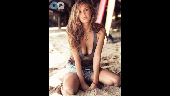 Does this face look familiar? That's because it's Dylan Penn, the daughter of actors Sean Penn and Robin Wright. Thanks to those stunning genes, Dylan has a side gig as a model -- as seen here in GQ -- but she dreams of going into the movie business as a screenwriter.