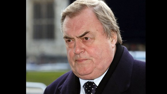 Former British deputy prime minister John Prescott was paid 40,000 pounds ($65,420).