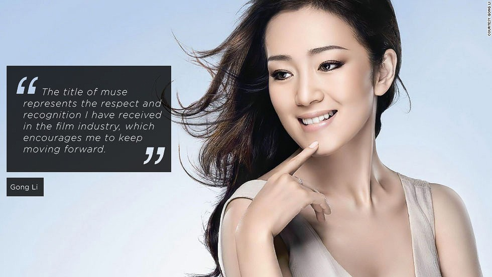 "<em>Gong Li, actress</em><br /><br />Gong Li is the premiere dame of Chinese cinema, whose exotic beauty has transfixed audiences across the globe. She has starred in numerous films by her former partner, prominent Chinese director  Zhang Yimou,  including the  The Story of Qiu Ju which brought her the Best Actress award at the 1992 Venice Film Festival. <br /><br />Gong Li sees her role of a muse as active: ""I'm not the kind of actress who just does what she's told. Communication about the script with the director is of vital importance to me."" However, the knowledge that she inspired a director bring her professional gratification: ""That's what I expect and hope to achieve every time when I shoot a movie"" she says."