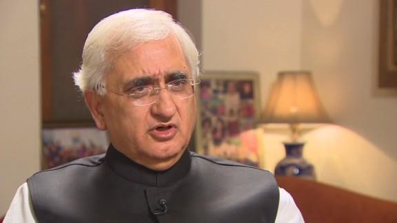 india Foreign Minister Salman Khurshid kapur intv_00002206.jpg