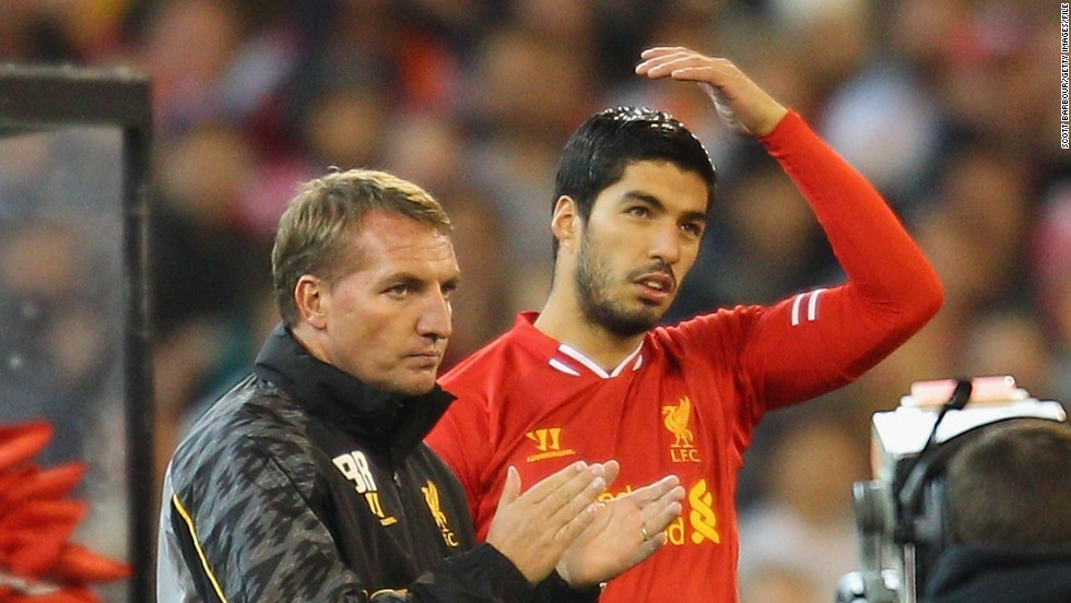 Dalglish's replacement Brendan Rodgers has given Suarez the Liverpool captaincy this season in the absence of the injured Steven Gerrard.