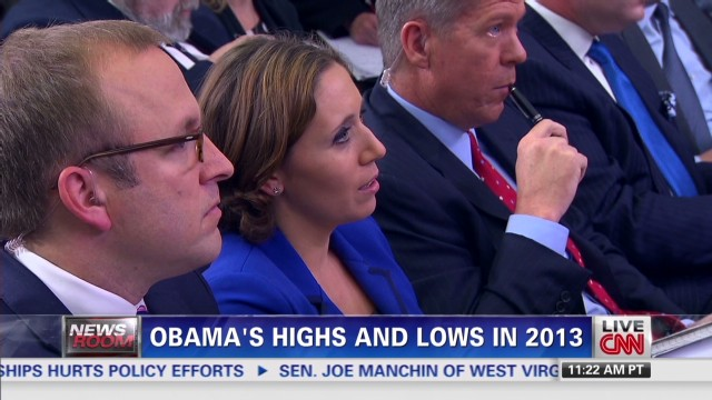 Highs and Lows for Pres. Obama in 2013