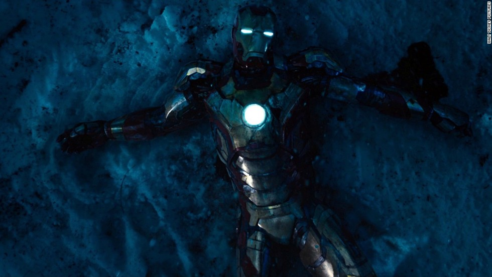 "<strong>No. 4:</strong> ""Iron Man 3"" was the top-grossing film of 2013 -- it made $409 million domestically -- but it fell two places short of being an all-around favorite for our readers."